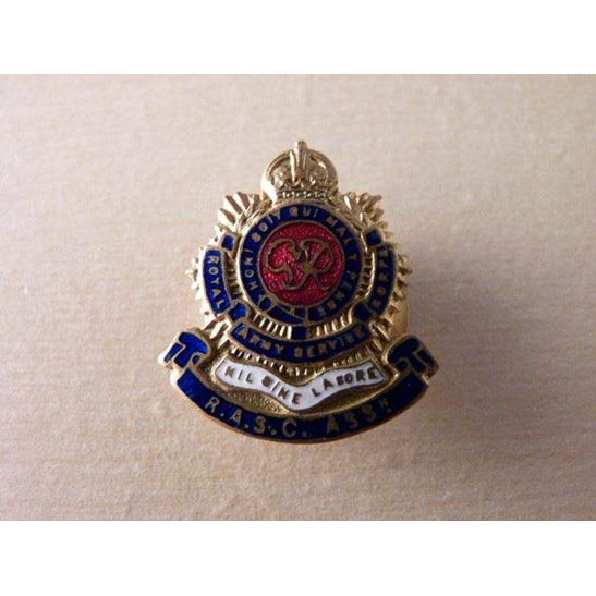 SS09/013 - Royal Army Service Corps Association Lapel Badge