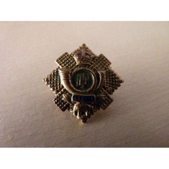 SS09/024 - Highland Light Infantry Regiment Sweetheart Brooch