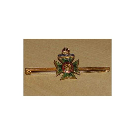 AA09/019 -The Kings Royal Rifle Corps Regiment Sweetheart Brooch