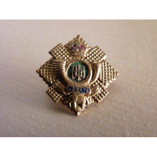 SS09/043 - Highland Light Infantry Regiment Sweetheart Brooch