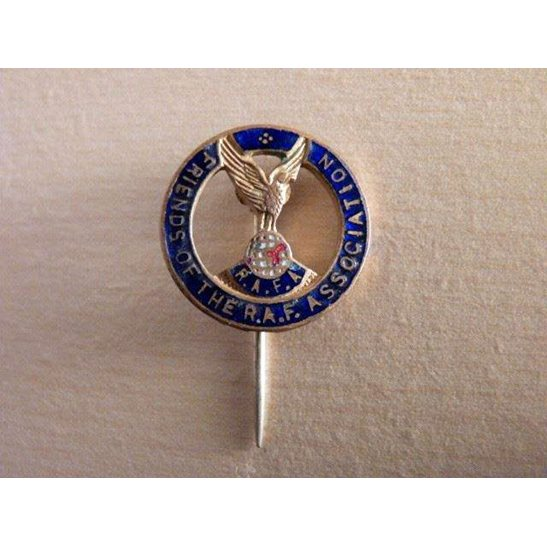 SS09/054 Friends of the Royal Air Force Association Lapel Badge