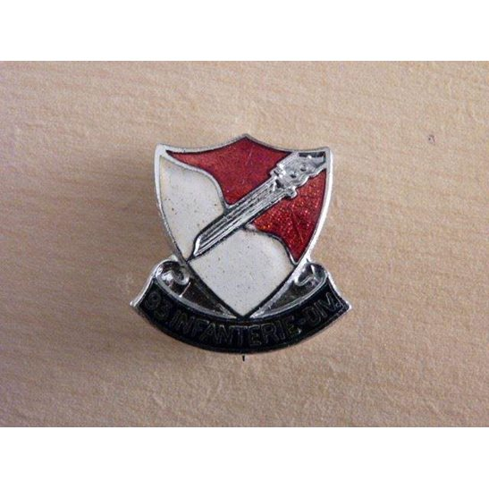 SS09/056 - French 93rd Infantry Division Sweetheart Brooch