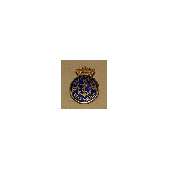 AA09/031 - Navy League Keep Watch Lapel Badge