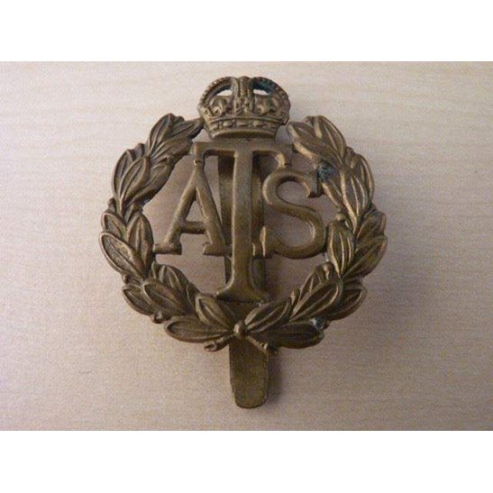WW09/018 - Auxiliary Territorial Service Corps Cap Badge