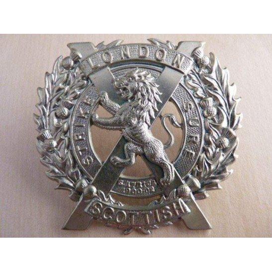 A55/009 - The London Scottish Regiment Cap Badge