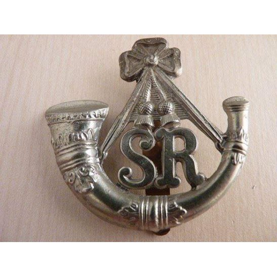 A55/025 - The Scottish Rifles Regiment Cap Badge