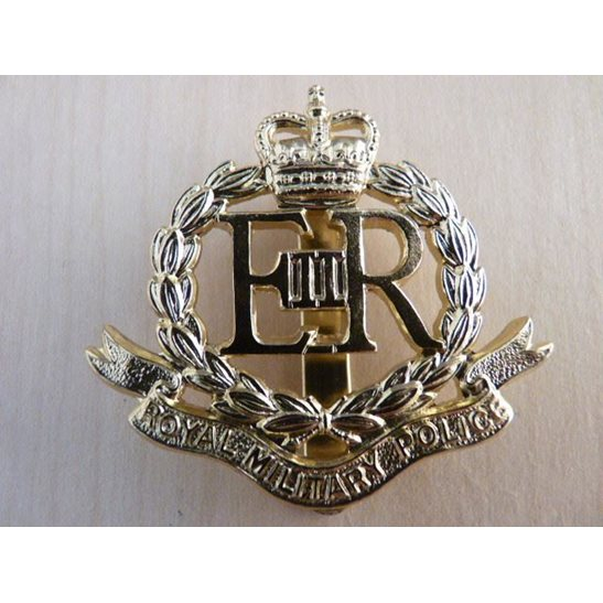 H55/032 - Royal Military Police Corps Staybright Cap Badge