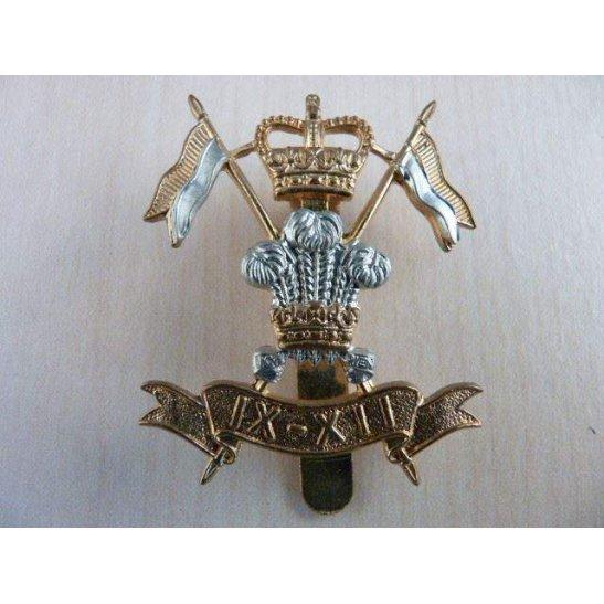 I55/017 - 9th / 12th Lancers Regiment IX - XII Cap Badge QC