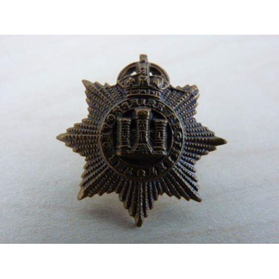 J55/012 - The Devonshire Regiment Collar Badge