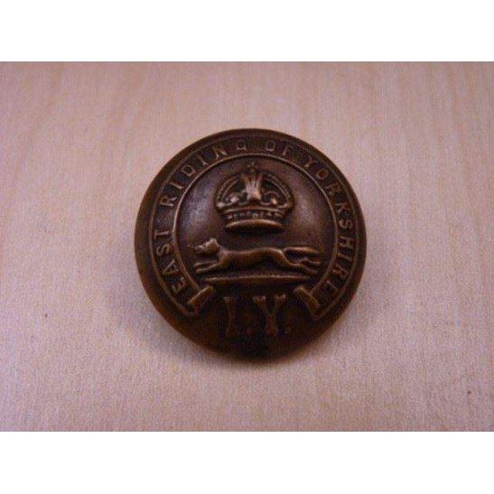 U55/045 - Victorian Shropshire Yeomanry Cavalry QVC Tunic Button