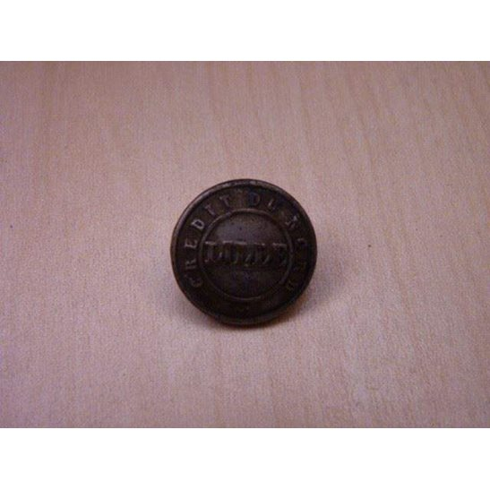 U55/050 - UNKNOWN French Credit Du Nord Lille Button