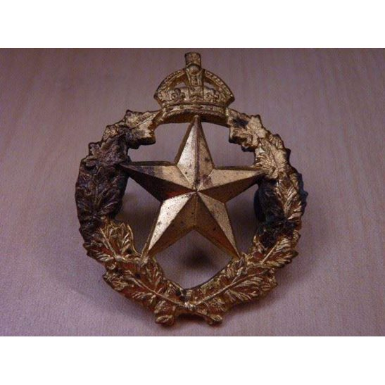 Q55/021 - Le Regiment De Montmagny Canadian Cap Badge