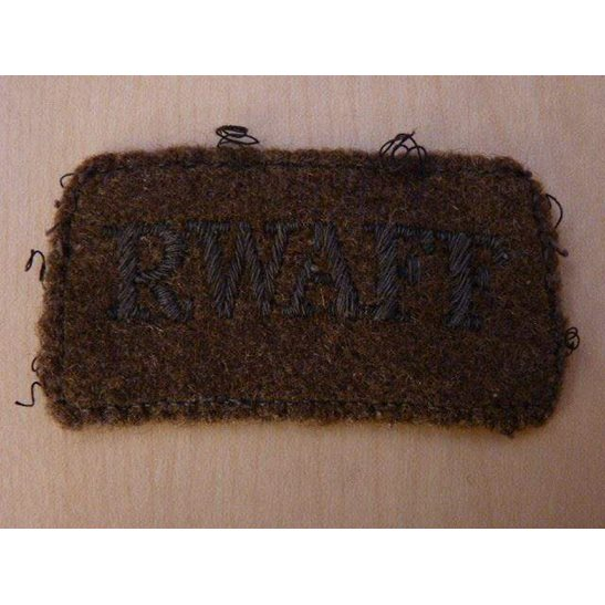 M55015 Royal West African Field Force RWAFF Cloth Shoulder Title