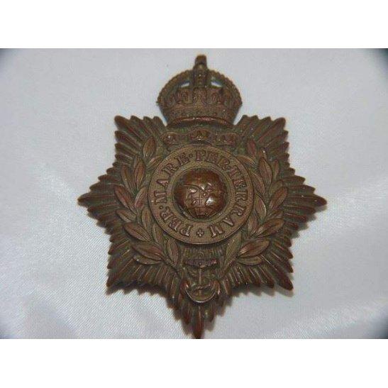 Y55/061 - Royal Marines Corps Helmet Plate