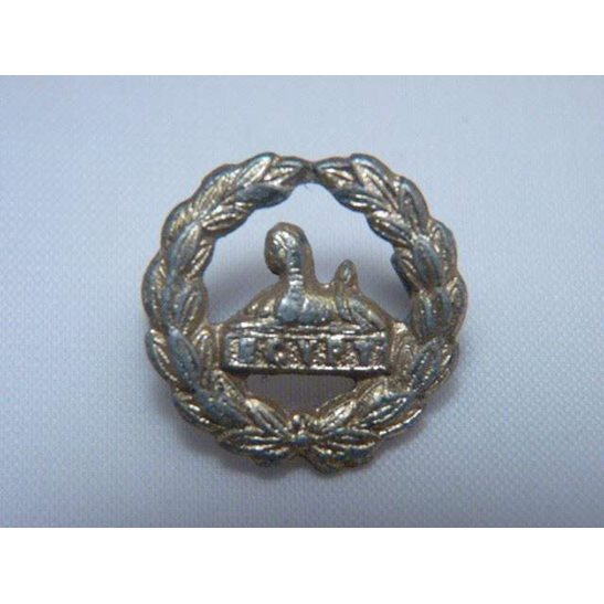 Y55/114 - Gloucestershire Regt Staybright BACK / REAR Cap Badge