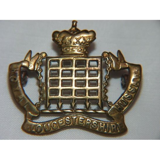 L55/015 - Royal Gloucestershire Hussars Regiment Cap Badge