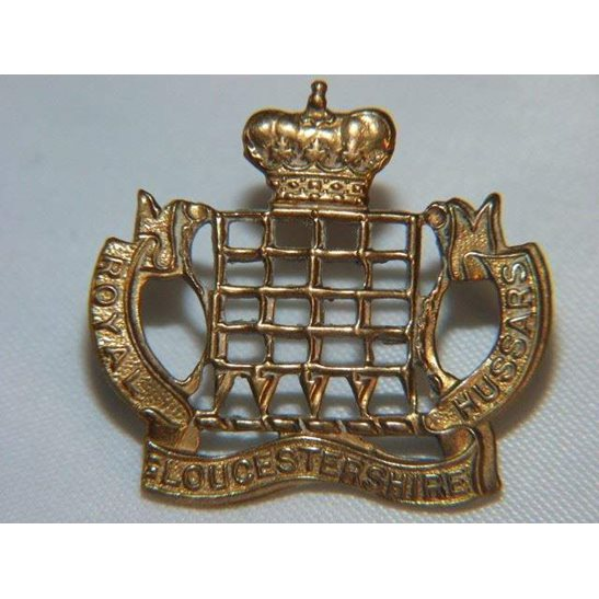 L55/210 - Royal Gloucestershire Hussars Regiment Collar Badge