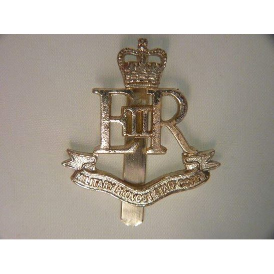 L55/295 - Military Provost Staff Corps MPSC Staybright Cap Badge