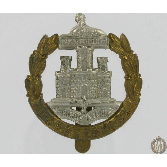 1A/002 - Dorsetshire Regiment Cap Badge - Dorset