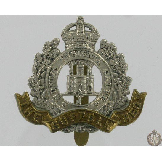 1A/007 - The Suffolk Regiment Cap Badge