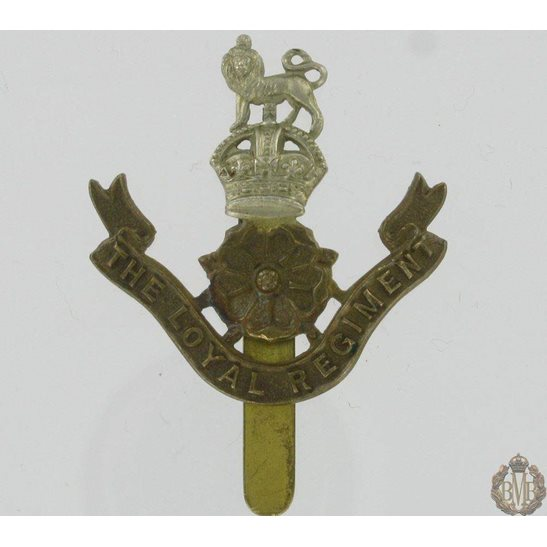 1A/016 - The Loyal North Lancashire Regiment Cap Badge - Loyals