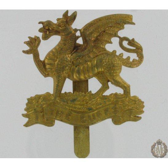 """1A/033 - Royal East Kent """"The Buffs"""" Regiment Cap Badge"""