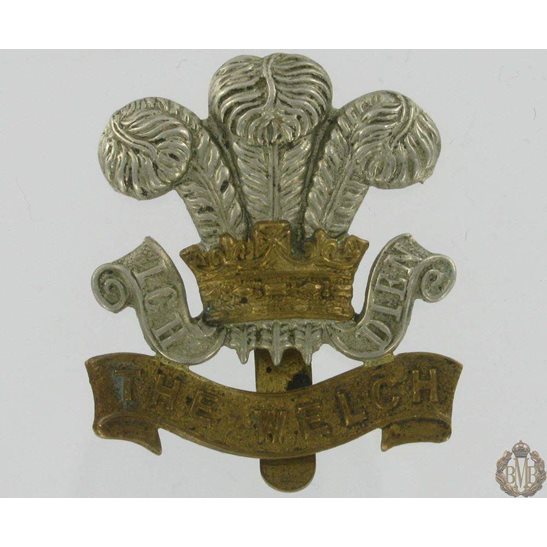 1A/036 - The Welch Regiment Cap Badge - Welsh