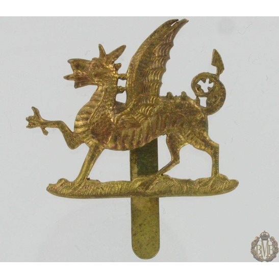 1A/041 - The Welch Regiment Cap Badge - Welsh