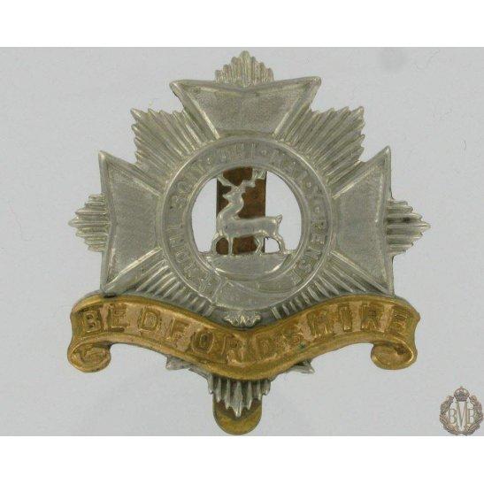 1A/042 - Bedfordshire Regiment Cap Badge