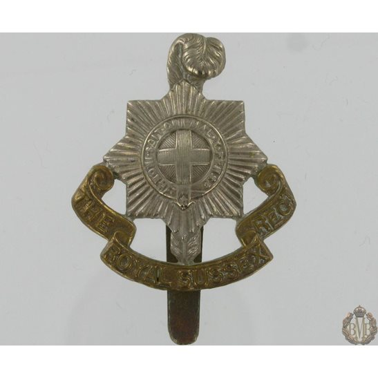1A/048 - The Royal Sussex Regiment Cap Badge
