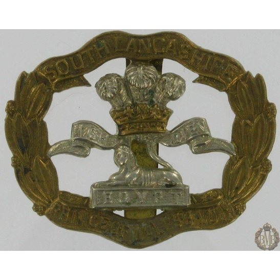 1A/075 - South Lancashire Regiment Cap Badge