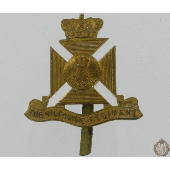 1A/077 - The Wiltshire Regiment Cap Badge