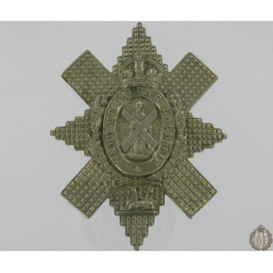 "1A/098 - Royal Highland ""Black Watch"" Regiment Cap Badge"