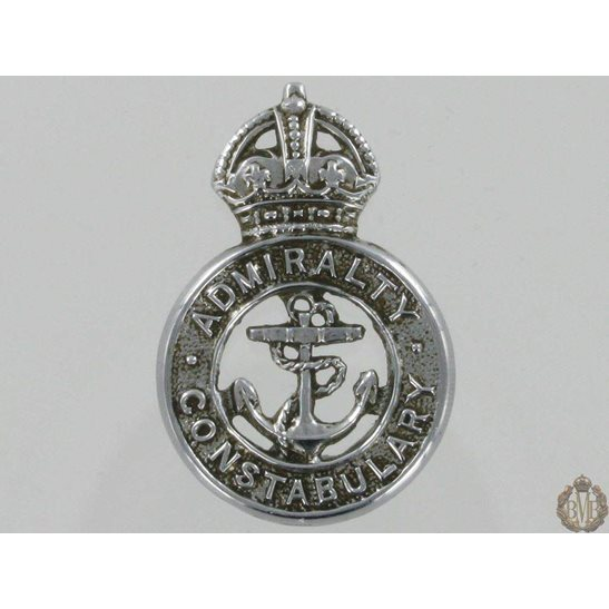 L55/331 - Admiralty Constabulary Collar Badge