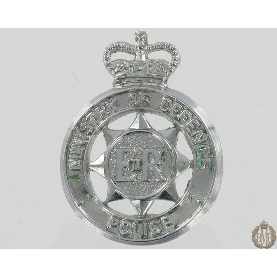 L55/340 - Ministry of Defence Police Collar Badge - Queens Crown