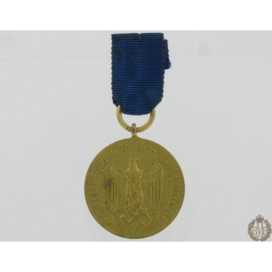L55/342 - WW2 German 12 Years Service Medal