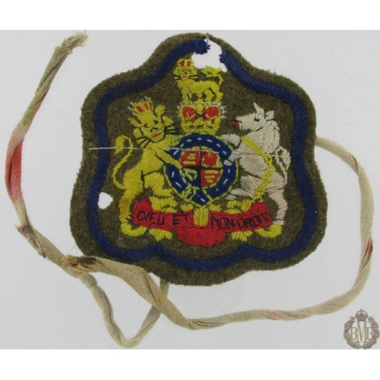 L55/347 - Warrant Officer Cloth Insignia Arm Band / Sleeve Badge