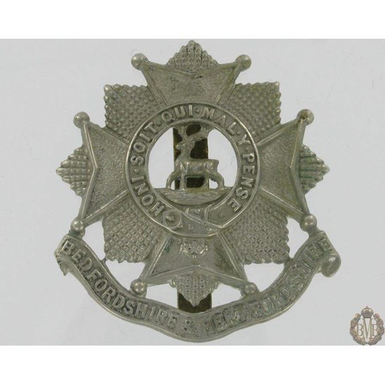 1A/060 - Bedfordshire & Hertfordshire Regiment Cap Badge