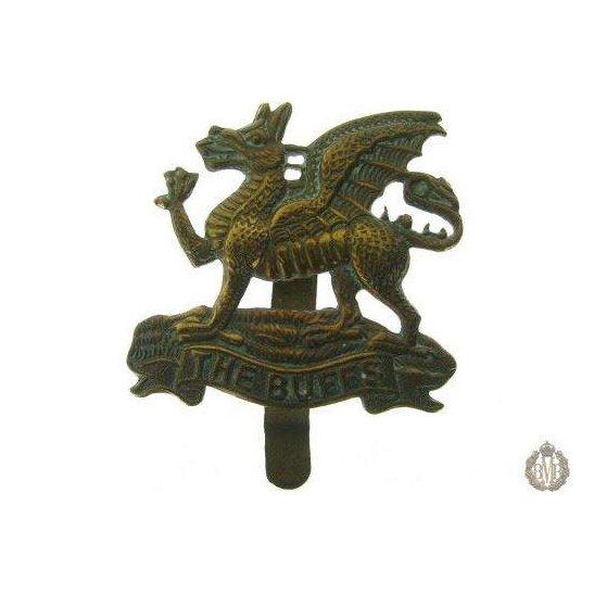 """1C/001 - Royal East Kent """"The Buffs"""" Regiment Cap Badge"""