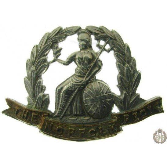 1B/005 - Royal Norfolk Regiment Cap Badge