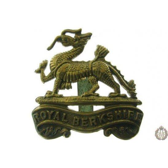 1B/014 - Royal Berkshire Regiment Cap Badge