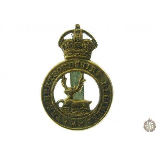 1B/019 - The Hertfordshire Regiment Cap Badge