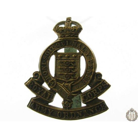 1B/027 - Royal Army Ordnance Corps RAOC Cap Badge