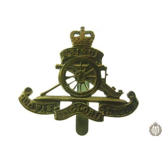 "1B/030 - Royal Artillery Regiment ""Beret Size"" Cap Badge"