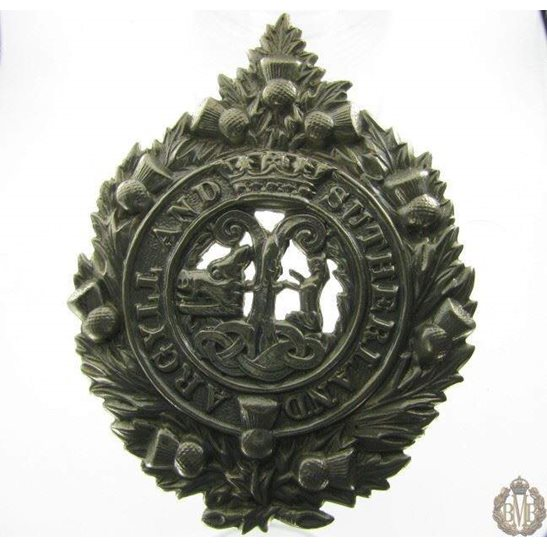 1B/040 - Argyll & Sutherland Highlanders Regiment Cap Badge
