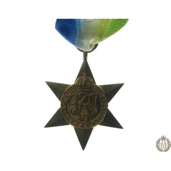 1B/044 - WW2 The Atlantic Star Medal