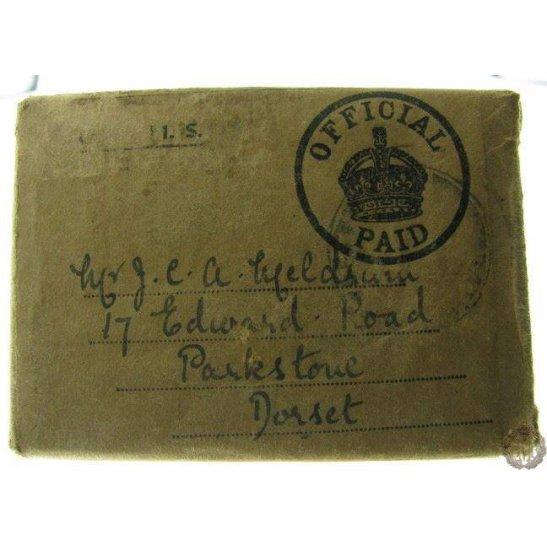 1B/048 - WW2 1939 - 1945 Original Medals Postage Issue Box