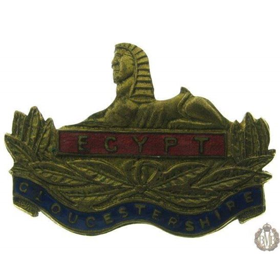 1B/052 - The Gloucestershire Regiment Sweetheart Brooch