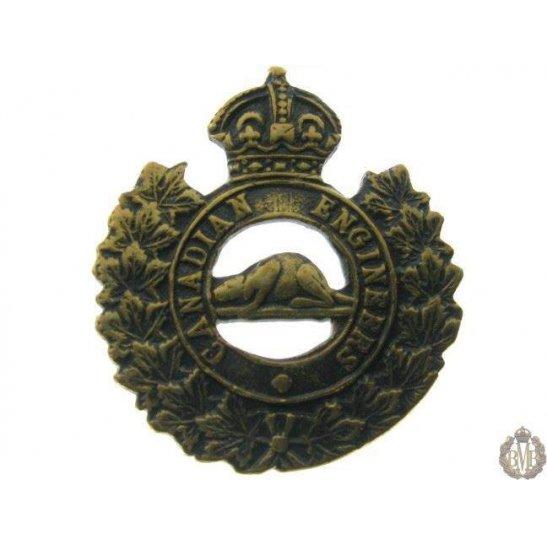 1B/053 - Canadian Engineers Corps Collar Badge