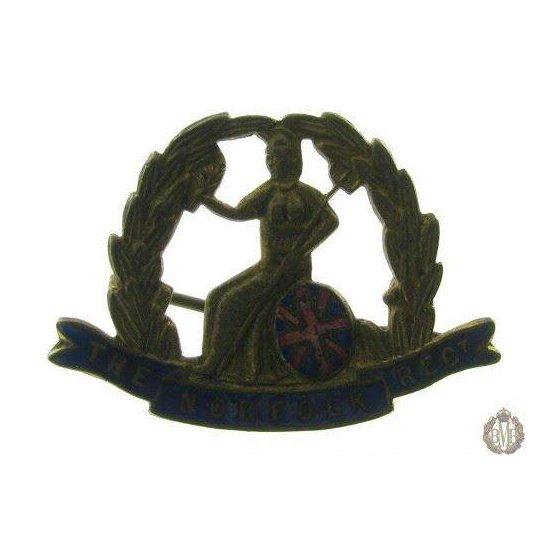 1B/062 - The Royal Norfolk Regiment Sweetheart Brooch